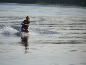 Water Skiing at Bear's Nine Pines