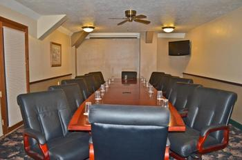 Boardroom at Fairmont Hot Springs Resort.