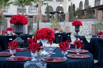 Wedding decor at Hotel Encanto.