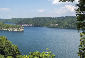 Lake view at ACE Adventure Resort.