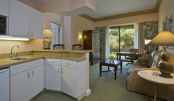 Executive suite at The Woodlands Resort & Conference Center.