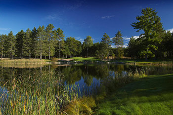 Golf course at Garland Lodge & Resort.