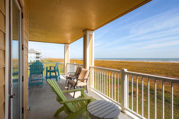 Deck view at Pointe West Properties.