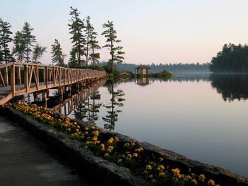 The Lake at White Pine Camp
