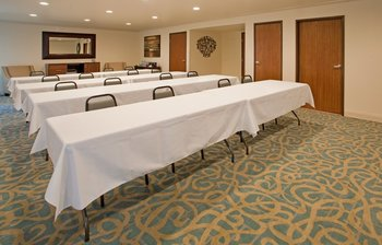 Meeting room at Holiday Inn Express Osage Beach.