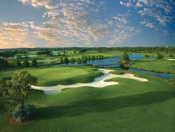 Golf course near Floridays Resort Orlando.