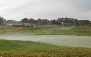 Golf course near The Osthoff Resort.