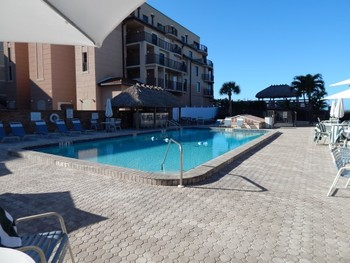 Outdoor pool at Sea Oats Beach Club.