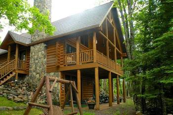 Rental exterior at Freshwater Vacation Rentals.
