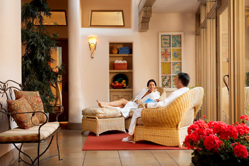 Spa Lounge at La Fonda on the Plaza
